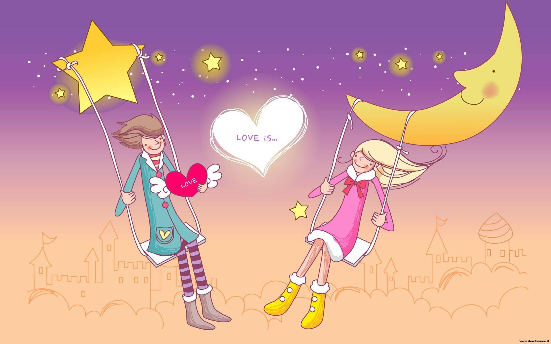 Sfondi amore belli