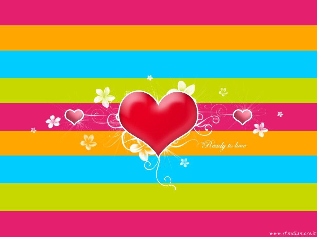 Sfondi Amore colorato