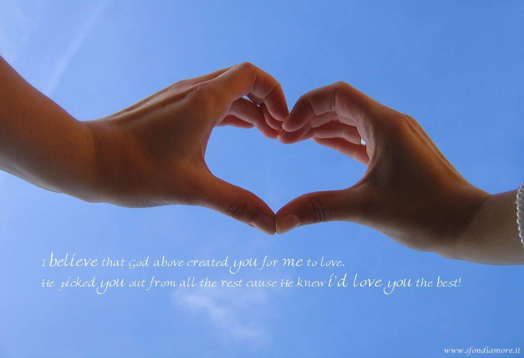 Sfondo amore con cuore