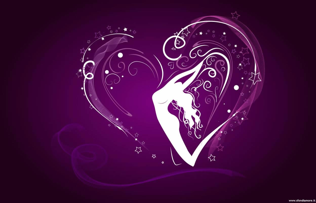 Sfondi amore donna