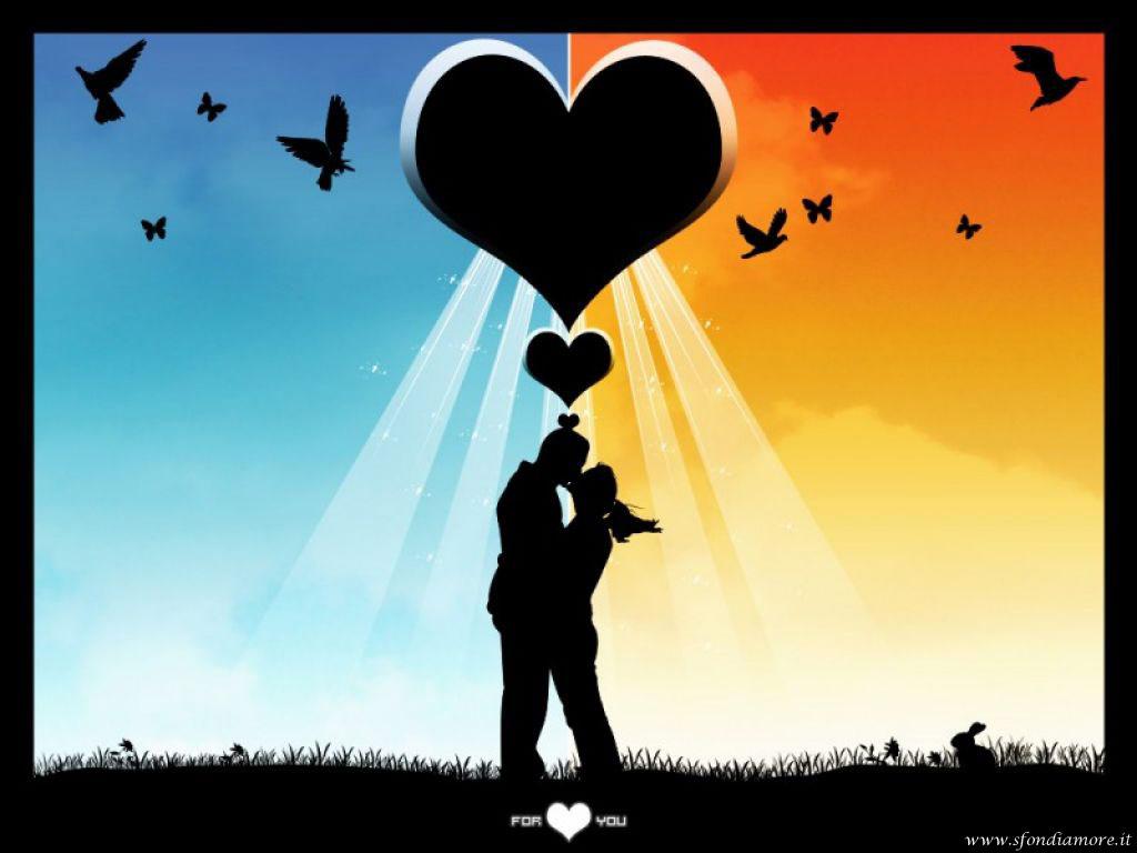Sfondo amore fantastico