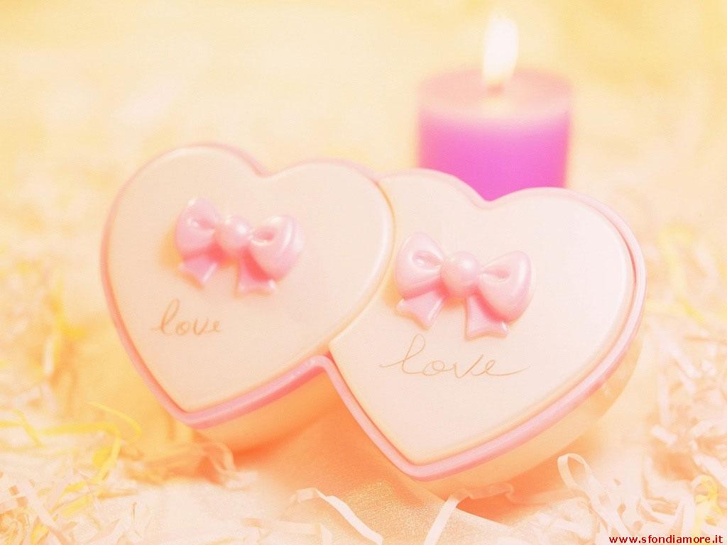 Sfondi romantici cuori
