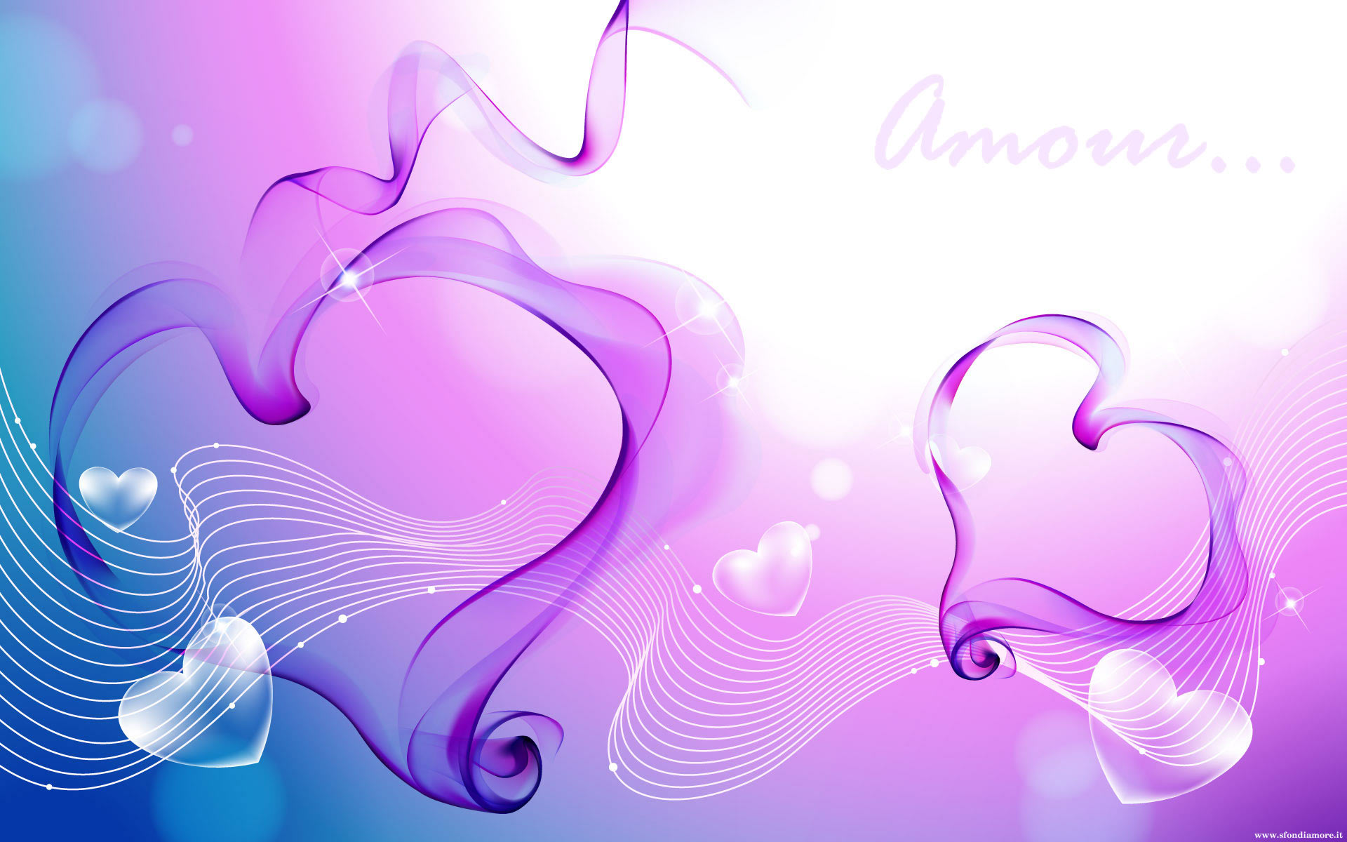Purple Love Wallpaper: Bellissimi Sfondi Teneri Da Collezionare